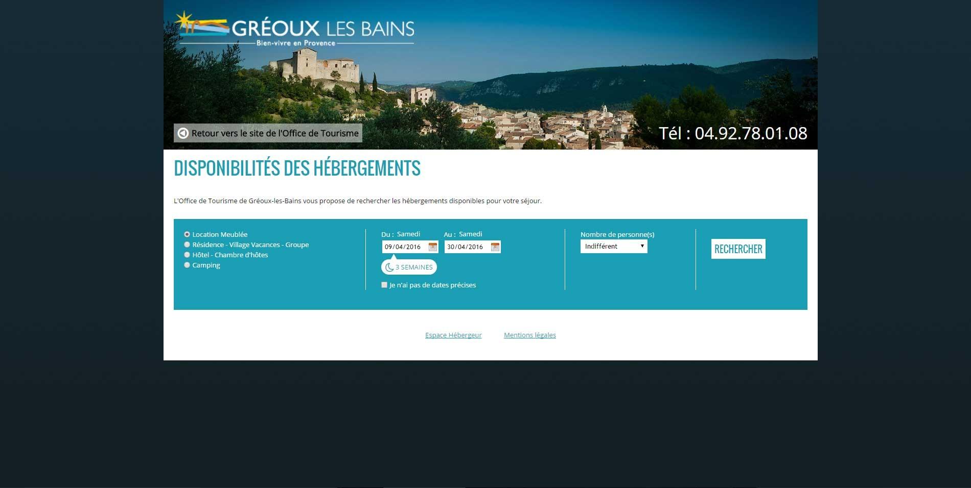 Logo Office de Tourisme de Gréoux-les-Bains