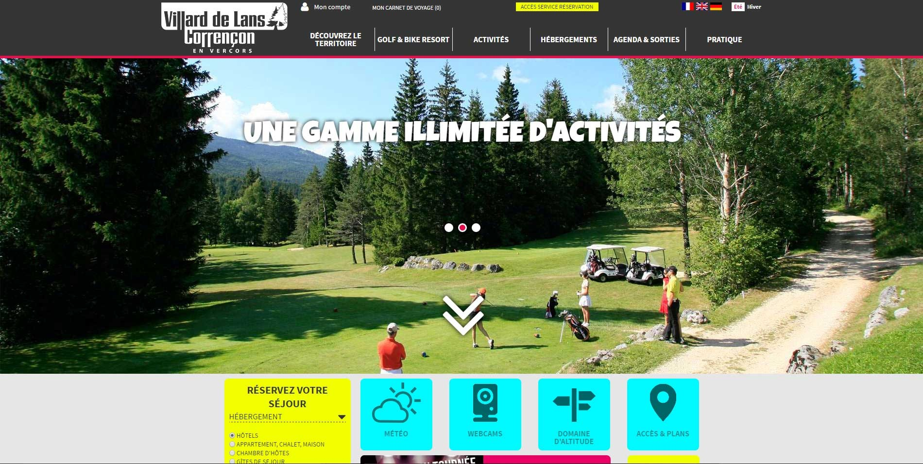 Base clients contacts base de donn es tourisme - Office de tourisme de villard de lans ...