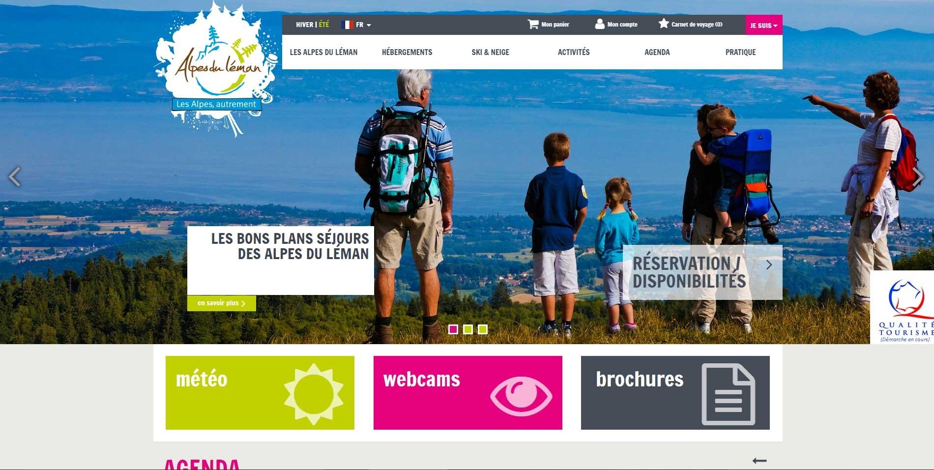 Logo Office de Tourisme des Alpes du L�man