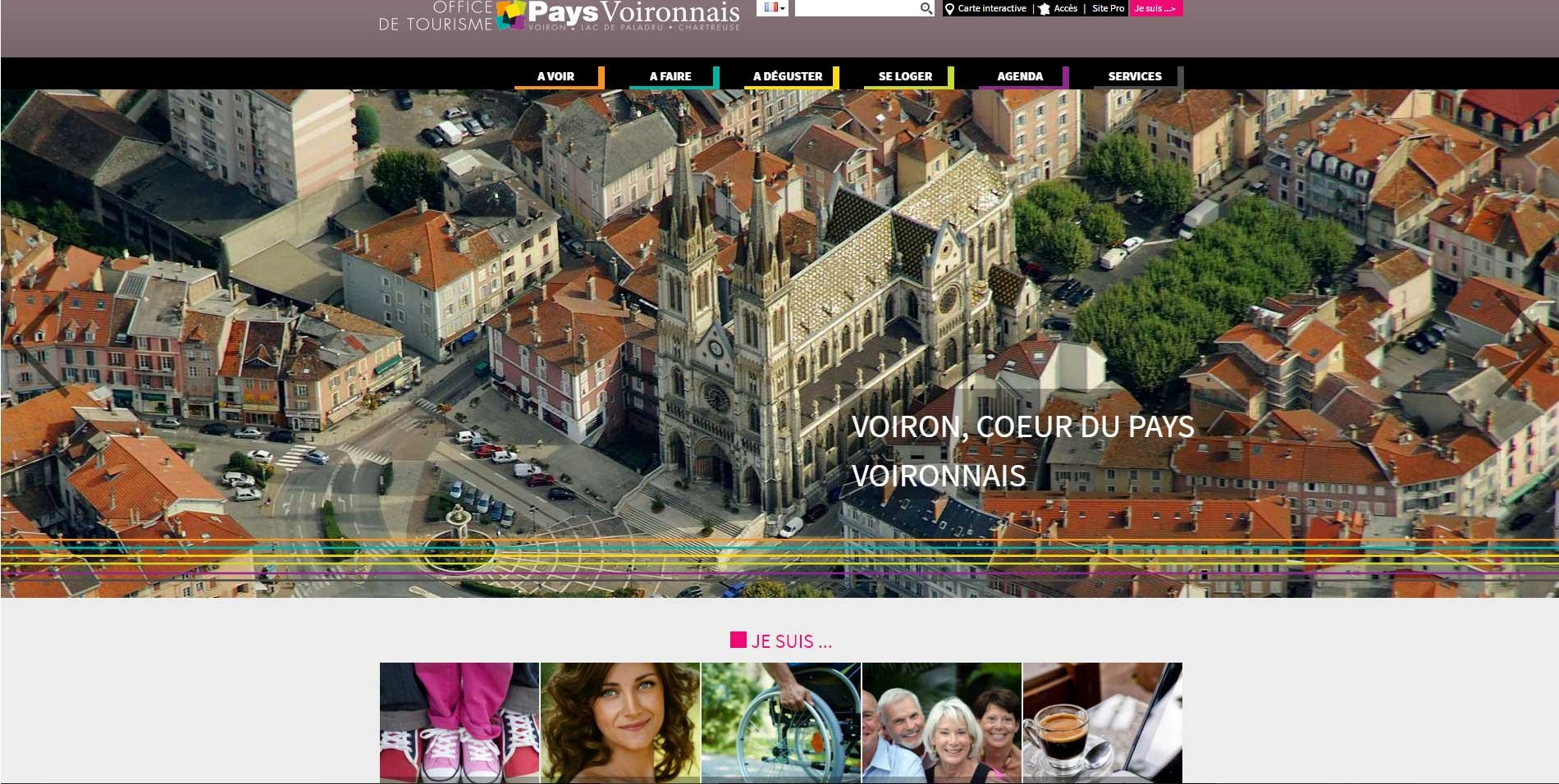 Logo Office de Tourisme du Pays Voironnais
