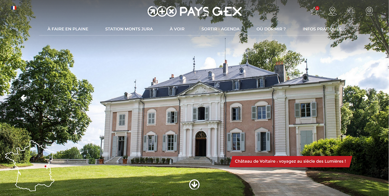 Logo Office de Tourisme du Pays de Gex la Faucille