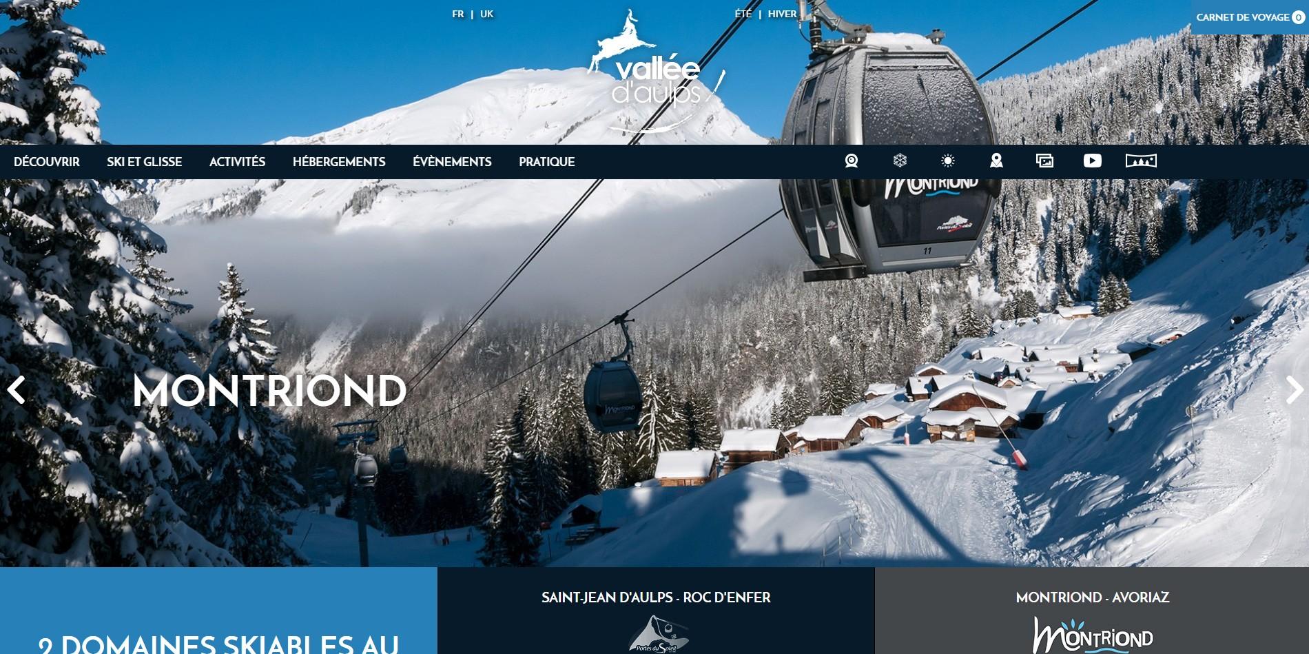 Logo Office de Tourisme de la Vallée d'Aulps
