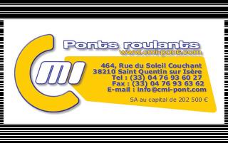 Logo CMI Ponts roulants